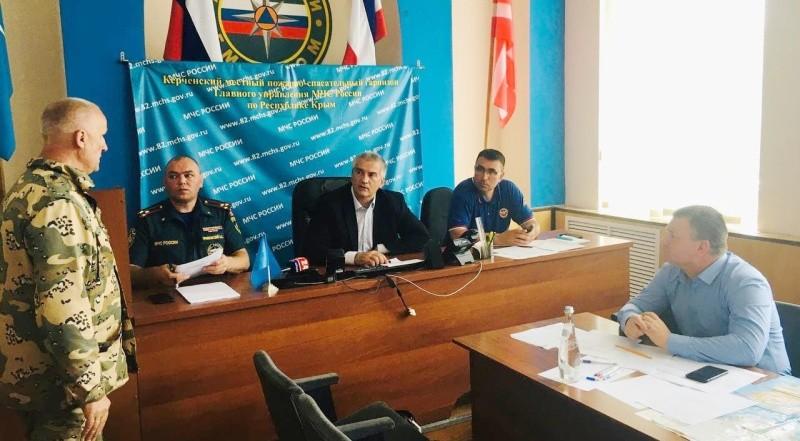 Сергей Аксенов: в Крыму подтоплены 5 муниципальных образований