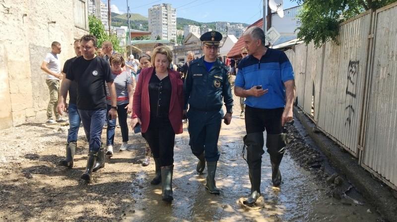 Глава Крыма рассказал о ситуации в пострадавших от наводнения районах