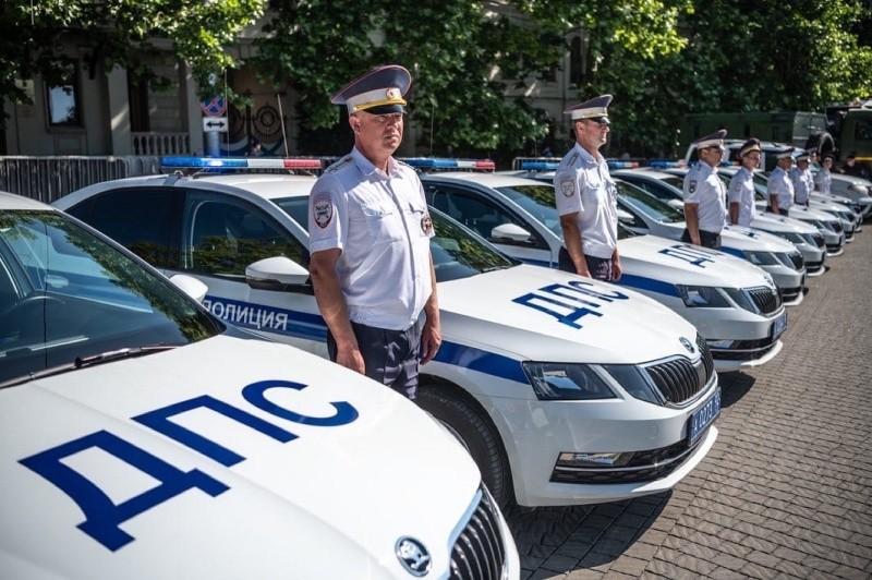 В Севастополе прошел смотр сил и средств полиции
