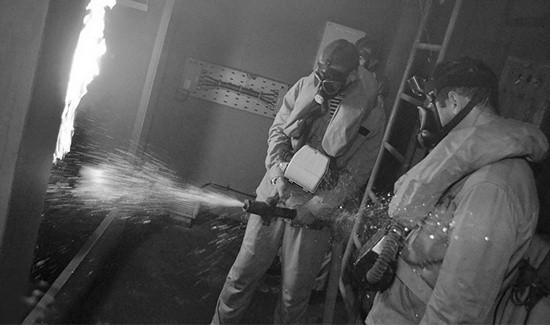 Экипажи кораблей Черноморского флота провели учения по борьбе за живучесть