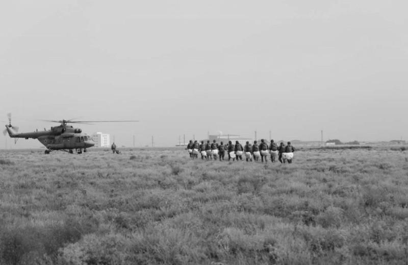 Военнослужащие армейского корпуса ЧФ провели сбор по воздушно-десантной подготовке