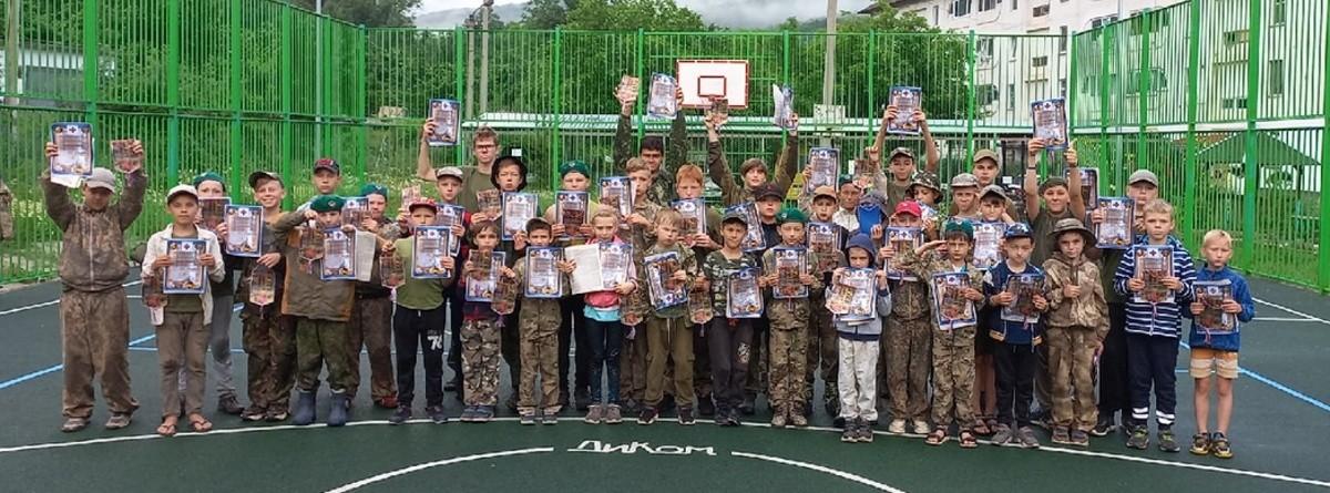 Для юных рукопашников Севастополя прошли военно-тактические сборы