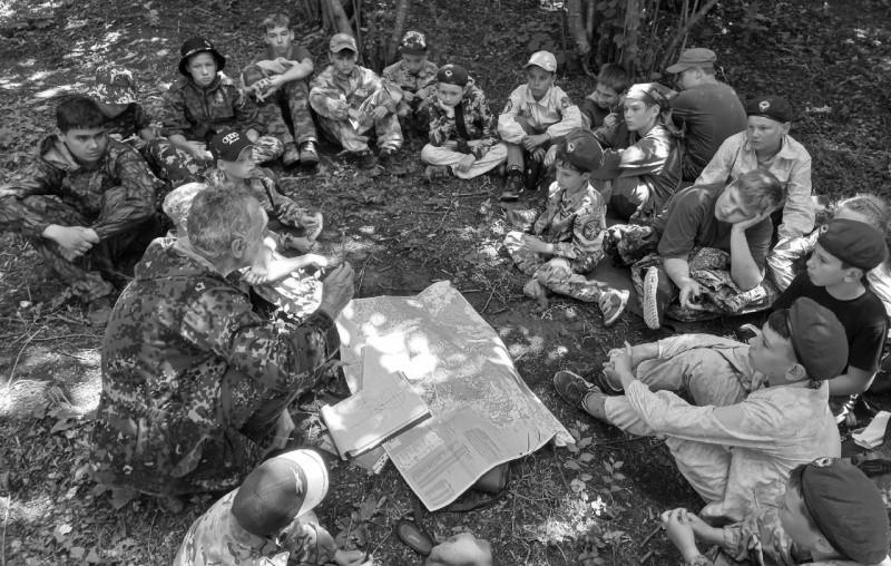 Для юных рукопашников Севастополя прошел военно-тактический турнир
