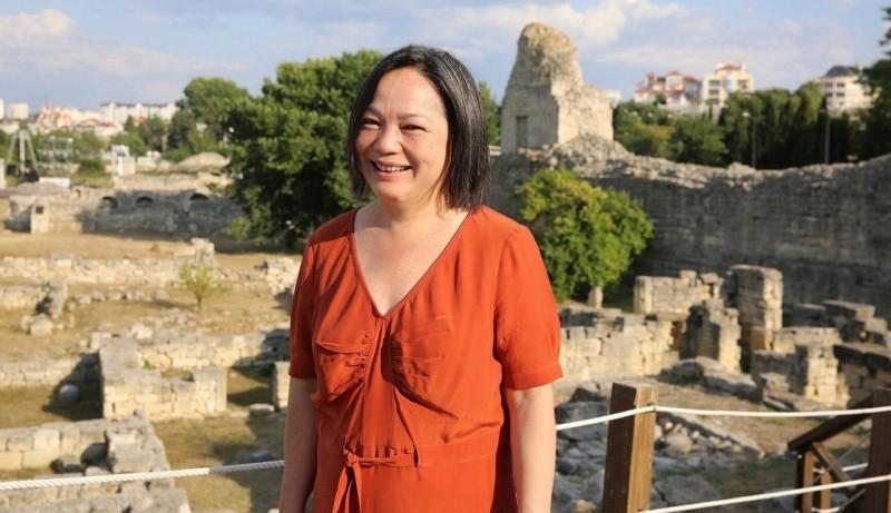 Херсонес посетила эксперт в области культурной дипломатии Пик Кеобандит