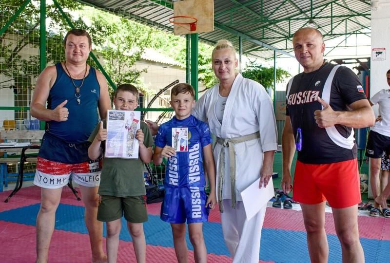 Юные рукопашники Севастополя обменялись опытом с коллегами из Подмосковья