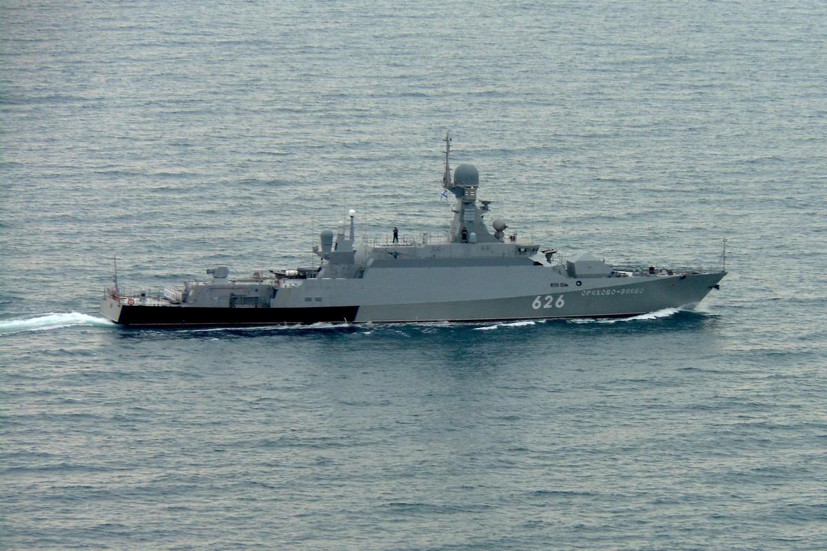 На Черноморском флоте прошло учение ракетных и десантных кораблей