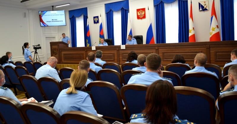 В прокуратуре Севастополя подвели итоги работы за 1 полугодие 2021 года
