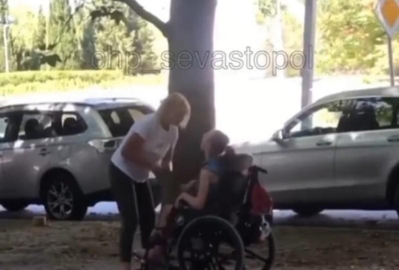 Проводится проверка видео из соцсетей о применении силы в отношении ребенка-инвалида в Севастополе
