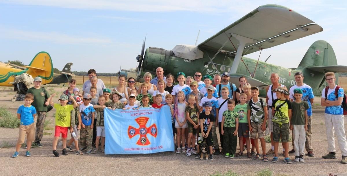 Юные севастопольцы посетили местный аэроклуб