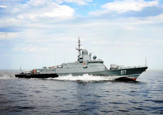 На Черноморском флоте завершена подготовка к испытаниям нового корабля «Циклон»