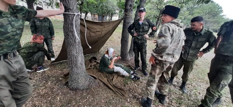 В Севастополе прошел военно-прикладной турнир для юных рукопашников