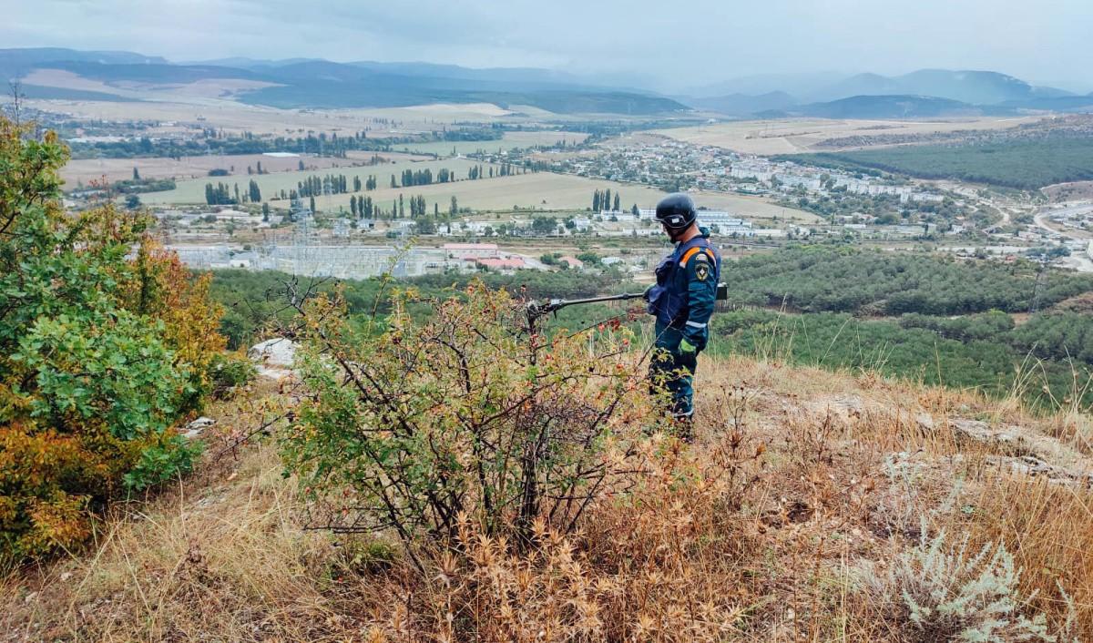 В районе поселка Сахарная головка обнаружили 153 минометные мины