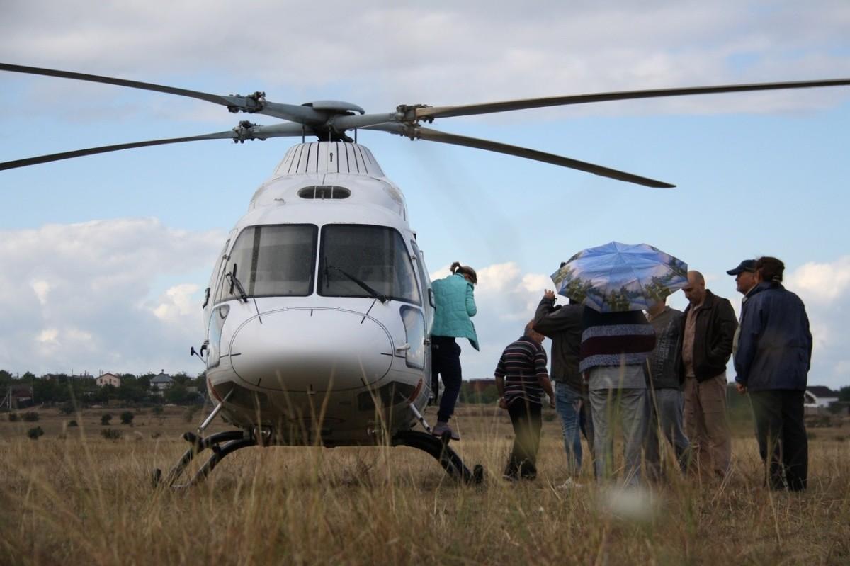 Санитарная авиация доставила подростка из Севастополя в Краснодар