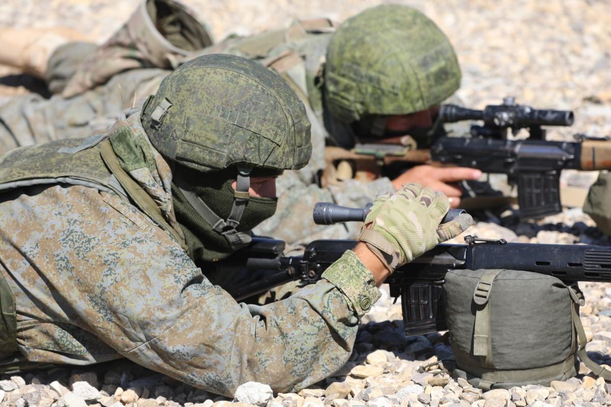 В Крыму прошли тренировки снайперских пар