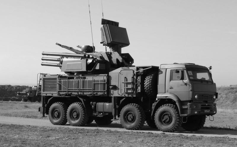 В Крыму расчеты комплексов «Панцирь-С» отработали уничтожение крылатых ракет