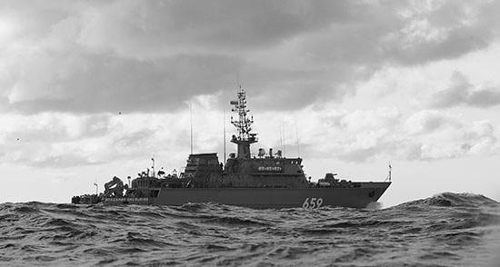 В Севастополь прибыл новейший корабль противоминной обороны