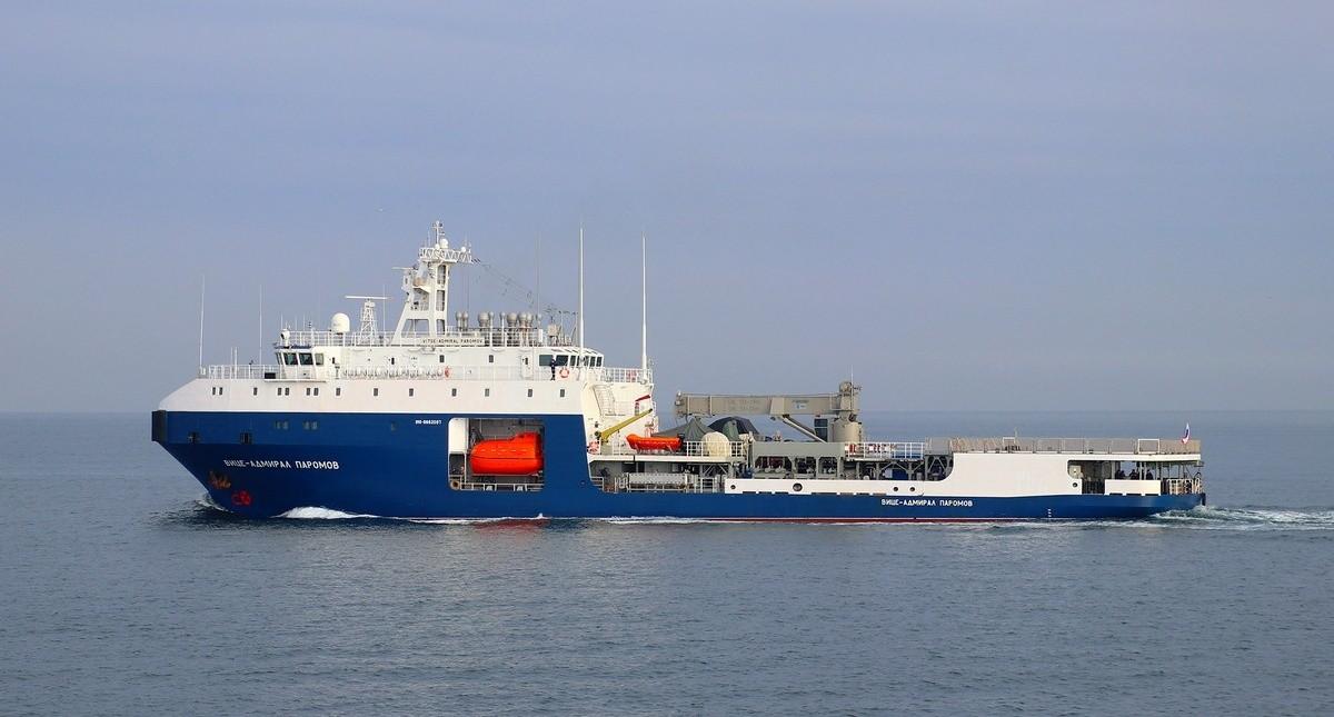 танкер Вице-адмирал Паромов