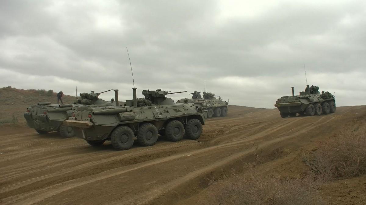 Морские пехотинцы ЧФ провели учение по высадке на необорудованное побережье
