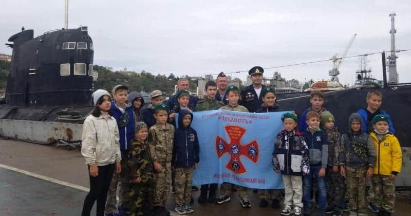 Юные рукопашники Севастополя побывали на подводной лодке