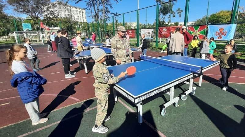 В Севастополе прошел семейный спортивный праздник
